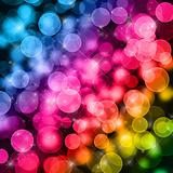 Beautiful abstract background of holiday lights