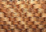 texture of the old wicker