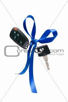 Car ignition key