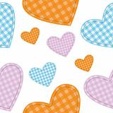 seamless vector hearts