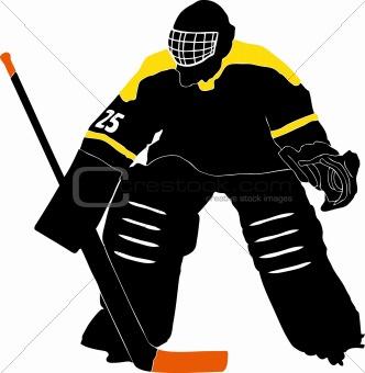 Image 3357295 Ice Hockey Goalie From Crestock Stock Photos
