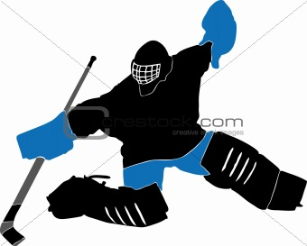 Image 3357296 Ice Hockey Goalie From Crestock Stock Photos