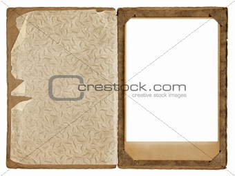 Old photograph frame