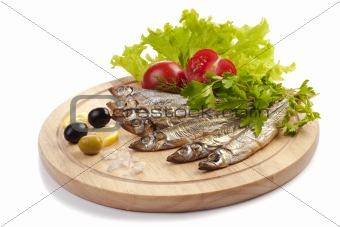 A composition with clupea herring