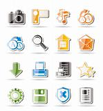 Simple Internet and Website Icons