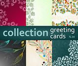 collection greeting cards