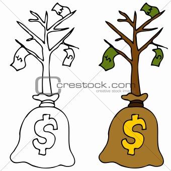 Sapling Money Tree