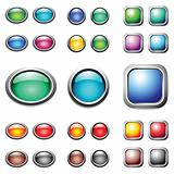 Color buttons set.