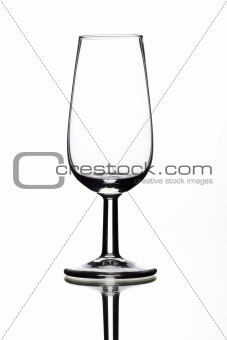 small sherry glasses