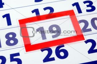 calendar day 19