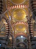 Marseille, inside Notre Dame de la Garde basilica