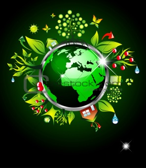 image 3362615 go green ecology background for environmental respect