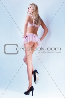 attractive blond girl