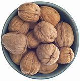 Bowl of Fresh Walnuts