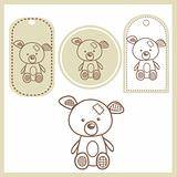 Baby bear labels