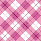 Bias Plaid Pattern Pink