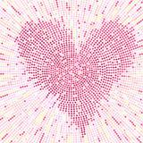 Valentine mosaic background