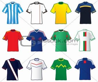 Football teams shirt