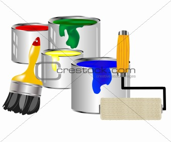 Paint and painting tools