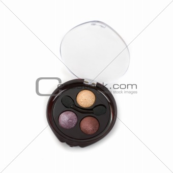 cosmetic paints with warm tones