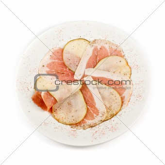 bacon with pear