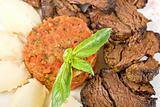 delicate beef fillet