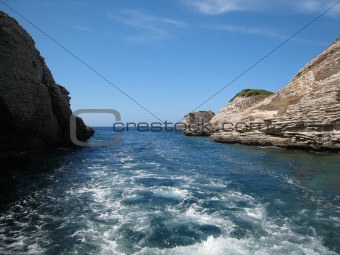 Corsica coast