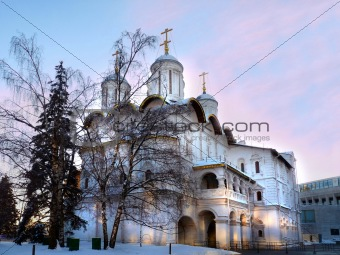 Church of the Twelve Apostles in the Moscow Kremlin. Russia