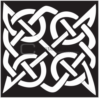 Celtic pattern and knot