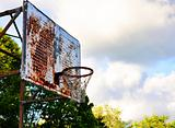 Vintage Basketball Hoop