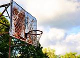 Vintage Basketball Hoop