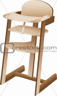Baby or toddler high chair