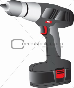 Battery powered drill