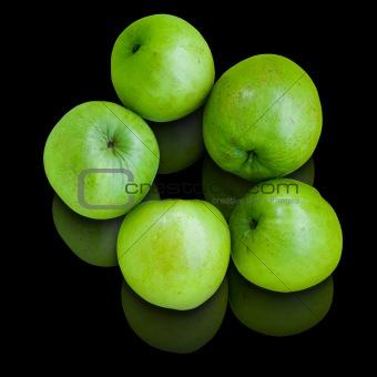 Five green Jujube