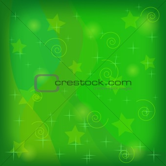 Abstract background, green