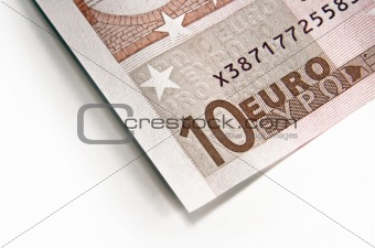 fragment of euro money