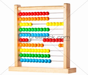 Colorful childrens abacus