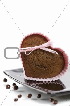 heart shape muffin