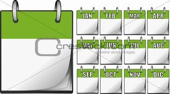Green Calendars