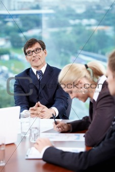Head of the meeting