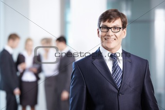 A man in business suit