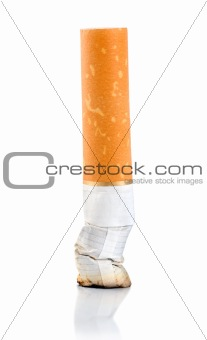 Cigarette butt (Clipping Path)