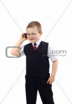 Small Boy - Businessman