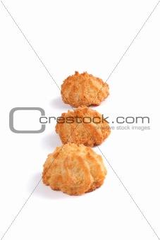 Three Coconut Cookies