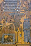 brown circuit board