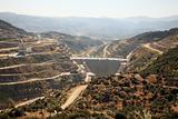 Cine Dam under construction