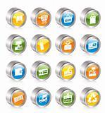 Simple Online Shop icons