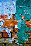 old dirty wall