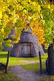 Yard Ukrainian villager Region Polesie