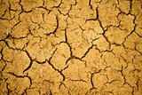 Cracked desert surface background